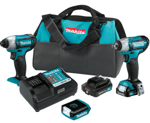 MAKITA 12V Max CXTŸ?? Lithium-Ion Cordless 3-Pc. Combo Kit MKCT324