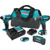 MAKITA 12V CXTŸ?? Drill Impact Lightand Radio Kit MKCT409R