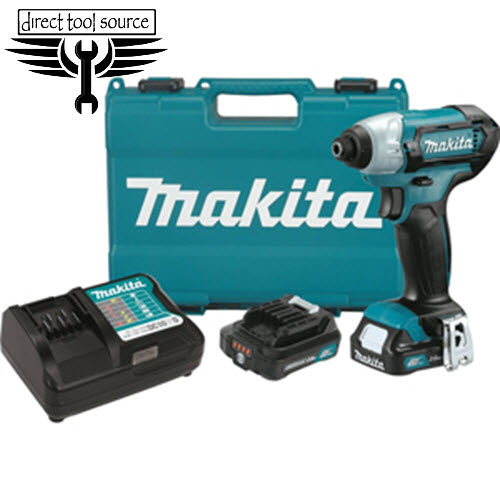 Makita 12V max CXT™ Lithium-Ion Cordless Impact Driver Kit DT03R1 - Direct Tool Source
