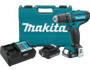 "MAKITA 12V Max 3/8"" CXT Slide BatteryDriver-Drill Kit MKFD05R1"