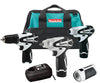 MAKITA 12 Volt 4 Piece Impact ToolKit MKLCT401W