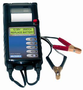 MIDTRONICS 12 Volt Battery & ChargingSystem Tester Built in Printer MPMDXP300 - Direct Tool Source