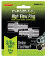 "LEGACY High Flow Plug 1/4"" Body 3/8""MNPT 2-Pack Flexzilla?? Pro MTA53640FZ-2PK"