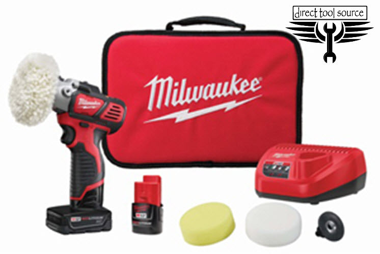 "Milwaukee M12 3"" Spot Polisher 2438-22X"