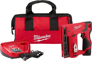 "MILWAUKEE M12 3/8"" Crown Stapler Kit MWK2447-21 - Direct Tool Source"