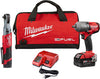 "MILWAUKEE M12 FUEL 3/8"" Ratchet + 1/2"" FUEL Midtorque Impact Wrench MWK2591-22"