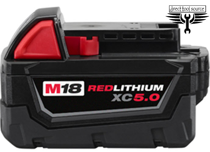Milwaukee M18 XC 5.0 High Capacity Li-Battery 48-11-1850