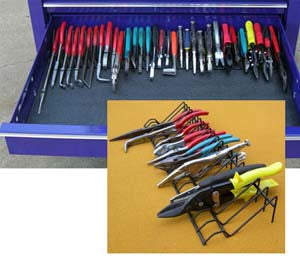 "PLYWORX 30"" Plier and Tool OrganizerRack PLYPLR30"