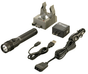 STREAMLIGHT HL Strion Black Dual SwitchAC/DC Ÿ?? 1 Holder Kit SG74611