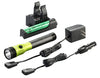 STREAMLIGHT Lime Stinger LED HL AC/DC withPiggyback Charger SG75478