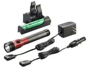 STREAMLIGHT Red DS Stinger LED HL AC/DCwith Piggyback Charger 800 Lum SG75494 - Direct Tool Source