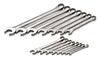 SK HAND TOOL 15 Piece 12 Point FractionalCombination Wrench Set SK86255