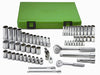 "SK HAND TOOL 62 Piece Metric Super Set 1/4""and 3/8"" Drive SK94562"