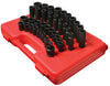 "SUNEX TOOL 39 Piece 1/2"" Drive Deep andShallow SAE Impact Socket Set SU2668 - Direct Tool Source"