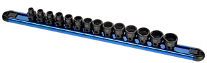 "SUNEX TOOL 14 Piece 3/8"" Dr Metric LowProfile Impact Socket Set with SU3362"