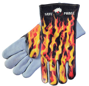 SAVE PHACE INC Fired Up Welding Gloves Large SV3012398