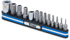 TITAN Tamper Resistant Metric HexBit Set on Magnetic Rail TN16136 - Direct Tool Source