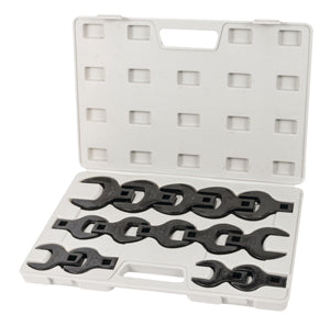 "TITAN 14 Piece 1/2"" Drive Jumbo SAECrowsfoot Wrench Set TN17298"