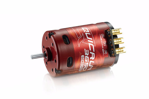 Hobbywing QuicRun 3650 10.5T 3500KV Brushless Sensored 540 Motor