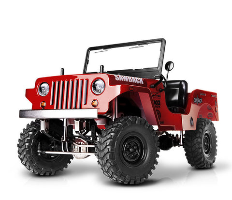 GMADE 1/10 Sawback 4WD GM52001 (Red Color Body)