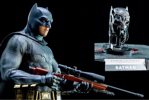 Hot Toys BVS: Batman Special Edition w/ Tech Cowl & Sniper