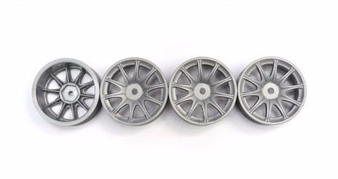 Speed Mind RS Racing Wheels 24mm Silver '0' Offset (8 Pieces)
