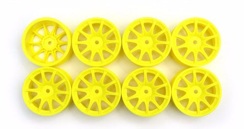 Speed Mind RS Racing Wheels 24mm Yellow '0' Offset (8 Pieces)