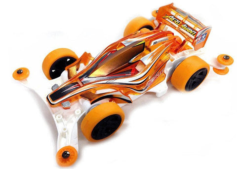 Tamiya Mini 4WD Aero Avante Clear Orange Special (AR Chassis)