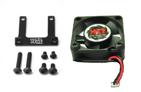 Wild Turbo Fan (WTF) 30mm Fan and BTA ESC Mount