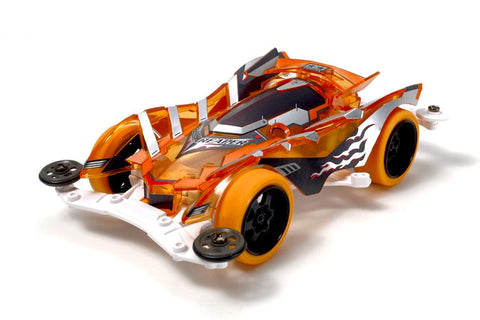 Tamiya Mini 4WD Slash Reaper Clear Orange (VS Chassis)