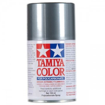 Tamiya Polycarbonate Spray Paint PS-63 Bright Gun Metal