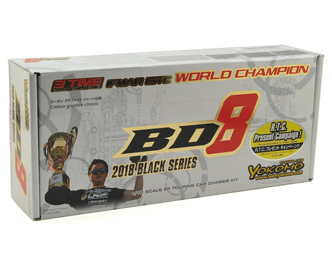 NEW! Yokomo 1/10 BD8 2018 Touring Car Kit (Carbon Chassis)