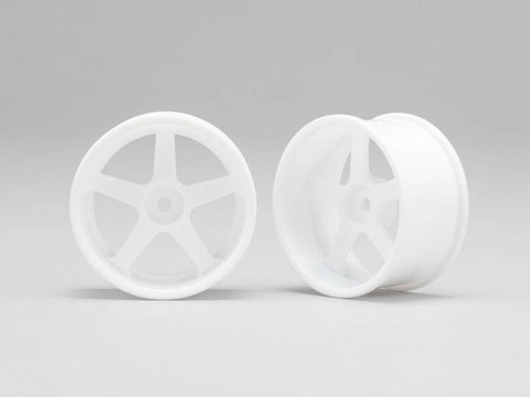 Yokomo (+6) RP 5 Spoke 01 Drift Wheels (2 Pieces)