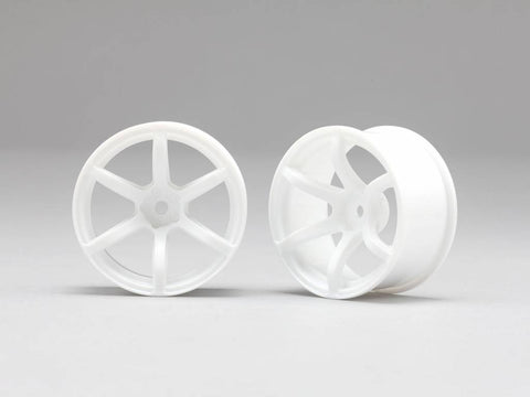 Yokomo (+6) RP 6 Spoke 02 Drift Wheels (2 Pieces)