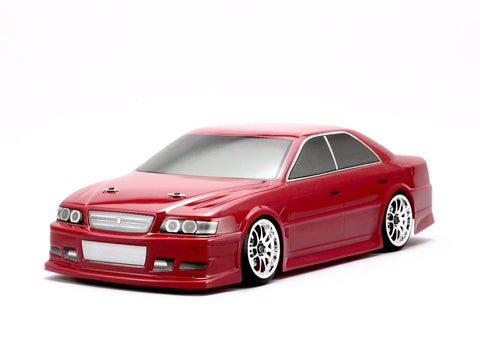 Yokomo 1/10 Body Toyota JZX100 Chaser Street Version