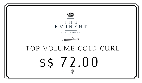 TOP VOLUME CURL (COLD) / ONLINE