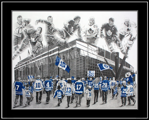 """Blue Shirts"" Limited Edition Print"