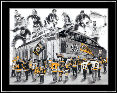 """Big Bad Bruins"" Limited Edition Print"