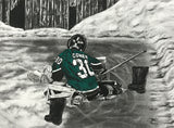 """The Dream Begins Here"" PERSONALIZED GOALIE Artwork"