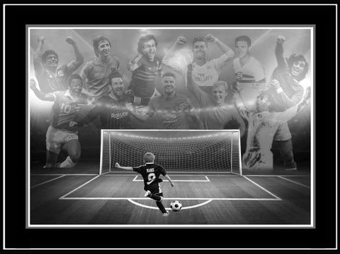 """The Dream Begins Here"" SOCCER Limited Edition Print PERSONALIZED for FREE"