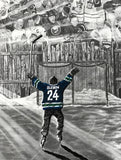 """The Dream Begins Here"" HOCKEY Limited Edition Prints PERSONALIZED for FREE"
