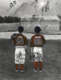 """Field of Dreams"" PERSONALIZED Baseball Artwork"