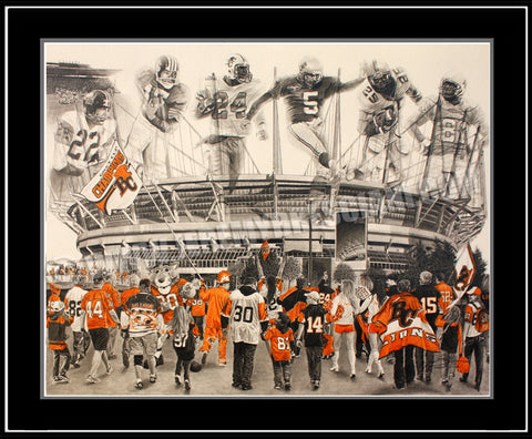 """The Lions' Roar"" Limited Edition Print"