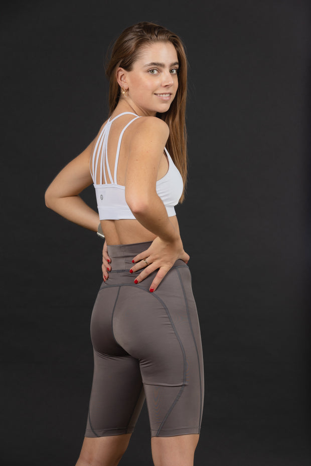Playera Cuello V Jaspeada - Vyve Active Wear