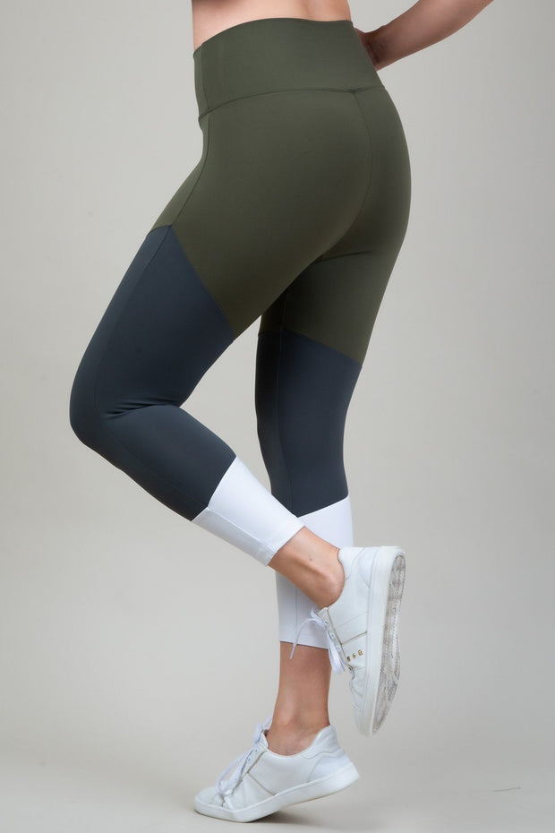 Legging 7/8 Color Block - VYVE Active Wear