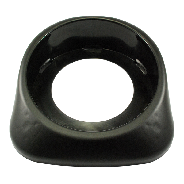 Base - Canister - Plastic - Black - 400mm