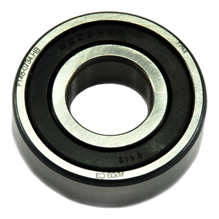 Bearing - Steel - Rubber Insert - 40mm