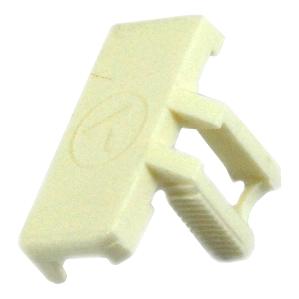 Clip - Thermal Cutout - Plastic - White - 30mm