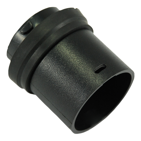 Connector - Hose - Plastic - Black - 32mm