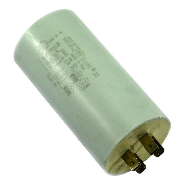 Electrical - Capacitor - 40uF - 400VAC